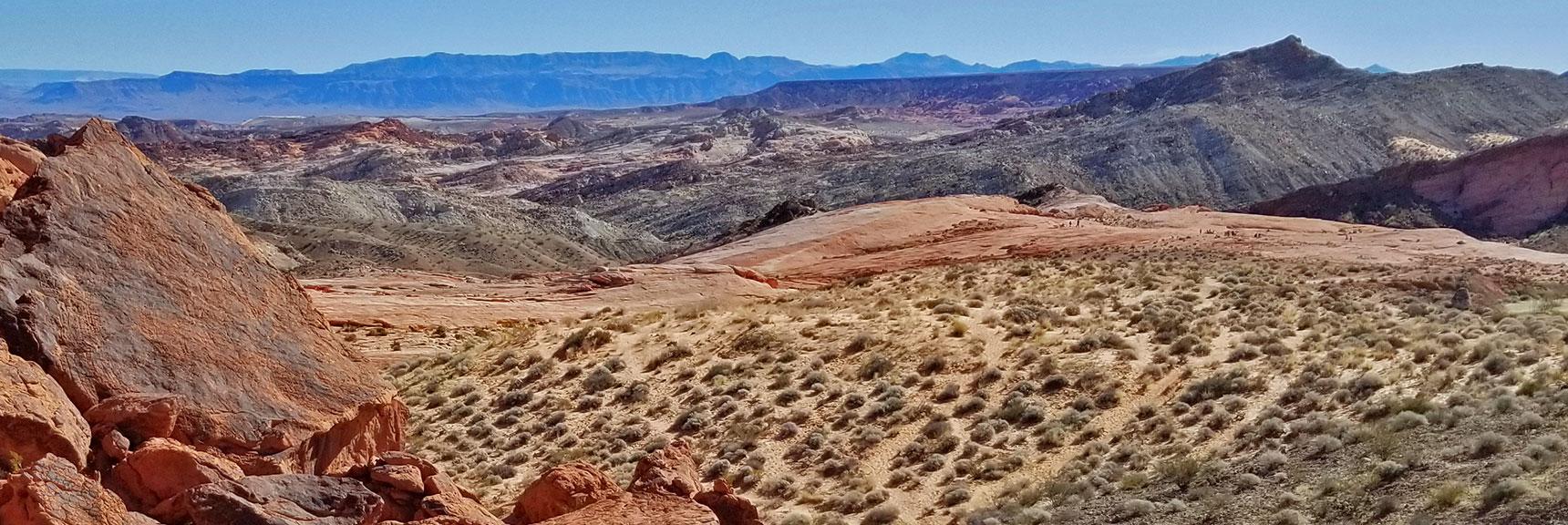 Firewave in Valley of Fire State Park, Nevada, Slide 005