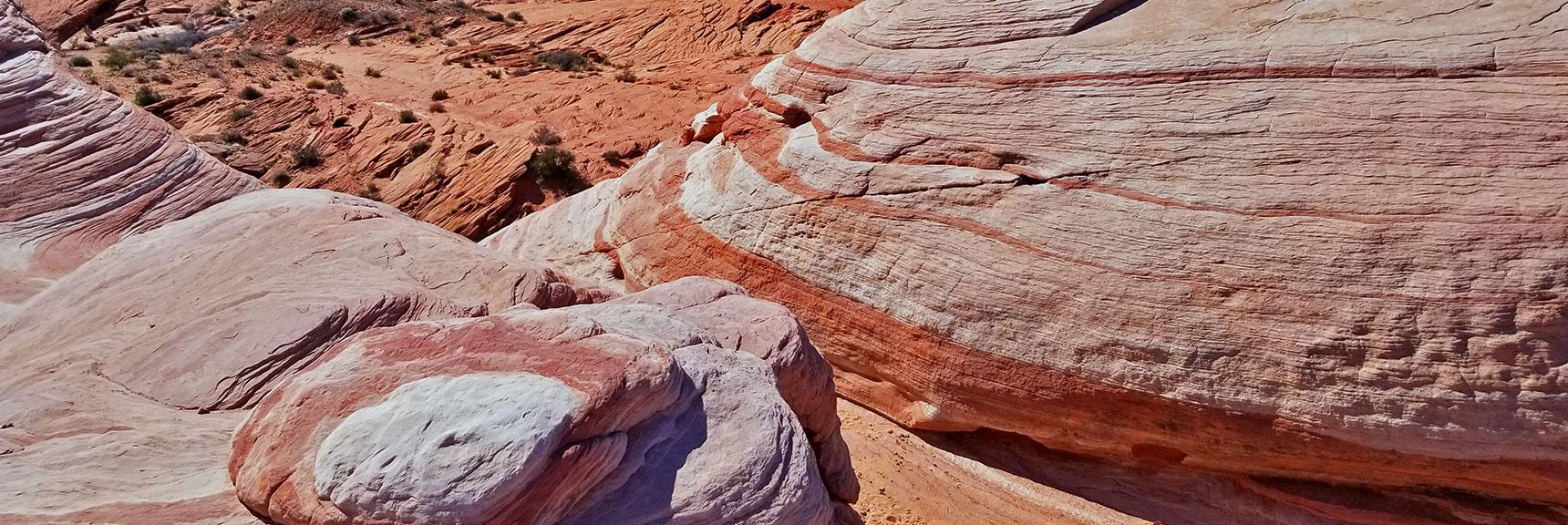 Firewave in Valley of Fire State Park, Nevada, Slide 013