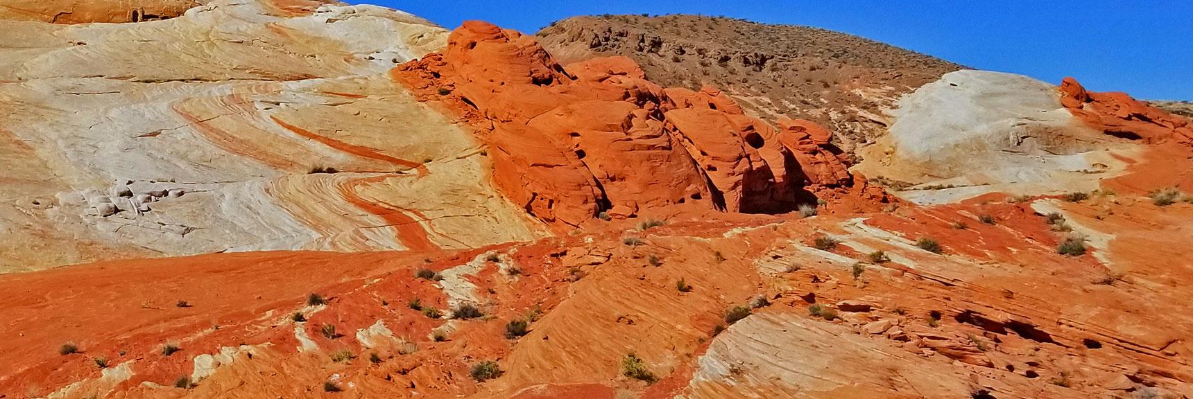 Firewave in Valley of Fire State Park, Nevada, Slide 014