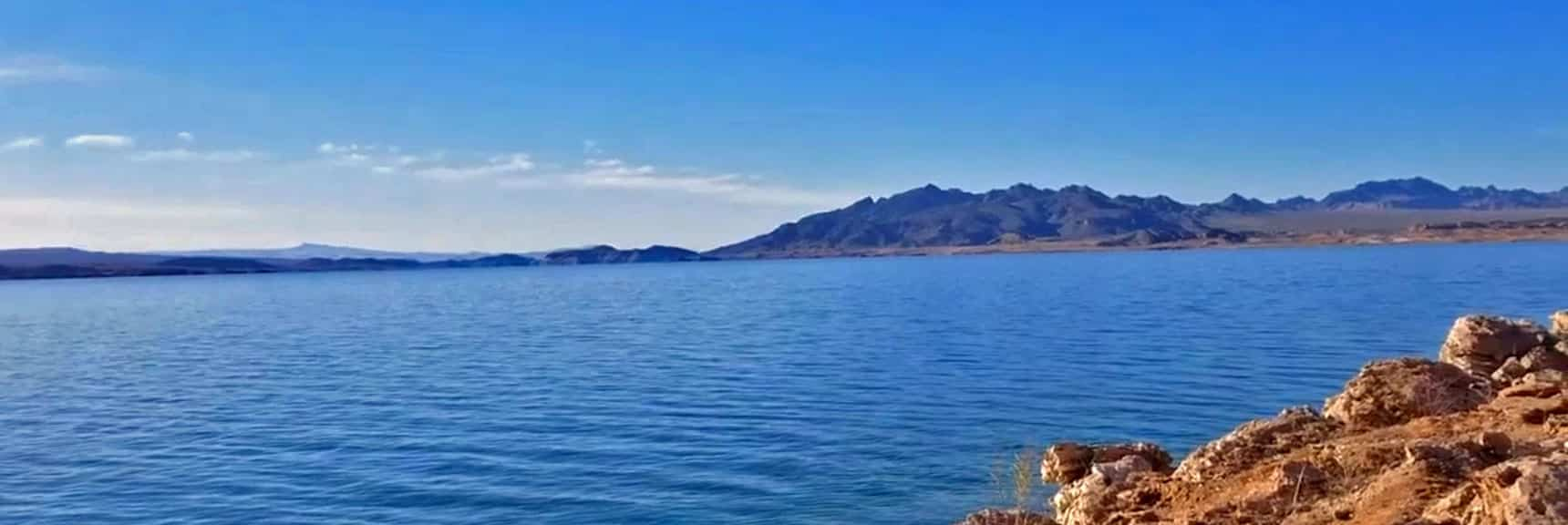 Overton Arm of Lake Mead in Lake Mead National Park Nevada