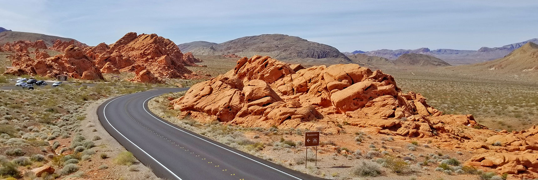 Redstone Dune Area On Northshore Road in Lake Mead National Park, Nevada