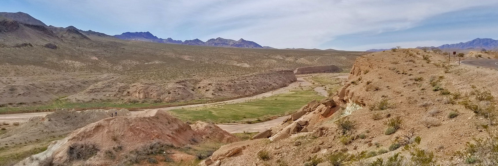 Echo Wash Viewed from Near Echo Bay On Northshore Road in Lake Mead National Park, Nevada