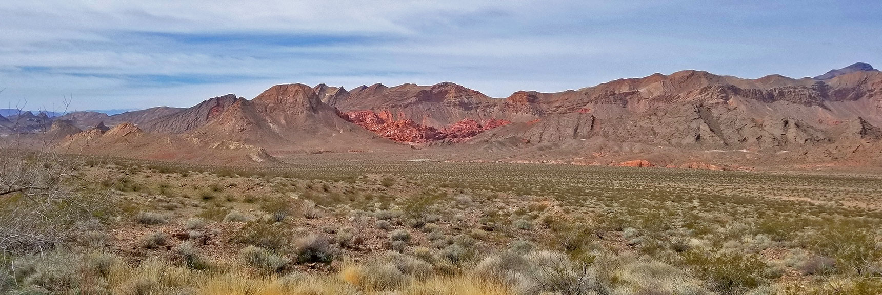 Bowl of Fire Viewed from About Mile 18 On Northshore Road in Lake Mead National Park, Nevada