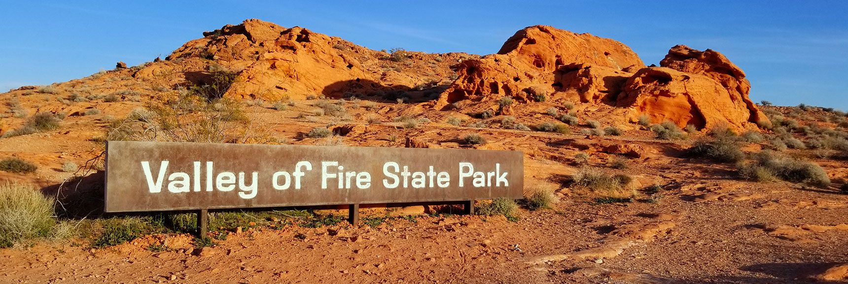 Valley of Fire State Park, Nevada, East Entrance
