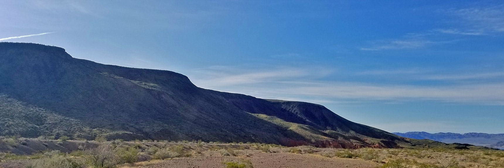 Southern Portion of Black Mesa in Lake Mead National Recreation Area, Nevada