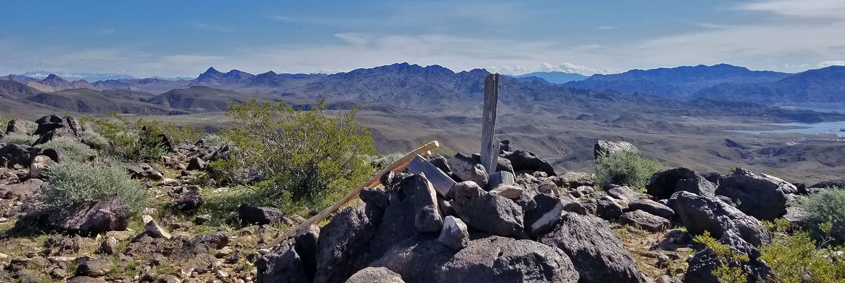 View Toward Jimbilnan Wilderness from Black Mesa in Lake Mead National Recreation Area, Nevada