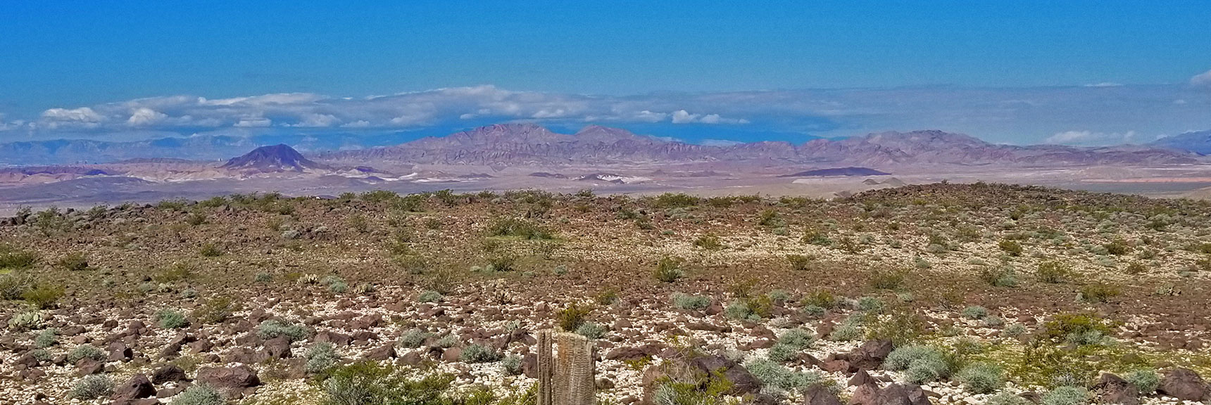 Frenchman Mountain Above Lake Mead National Recreation Area, Nevada, Viewed from Black Mesa Summit