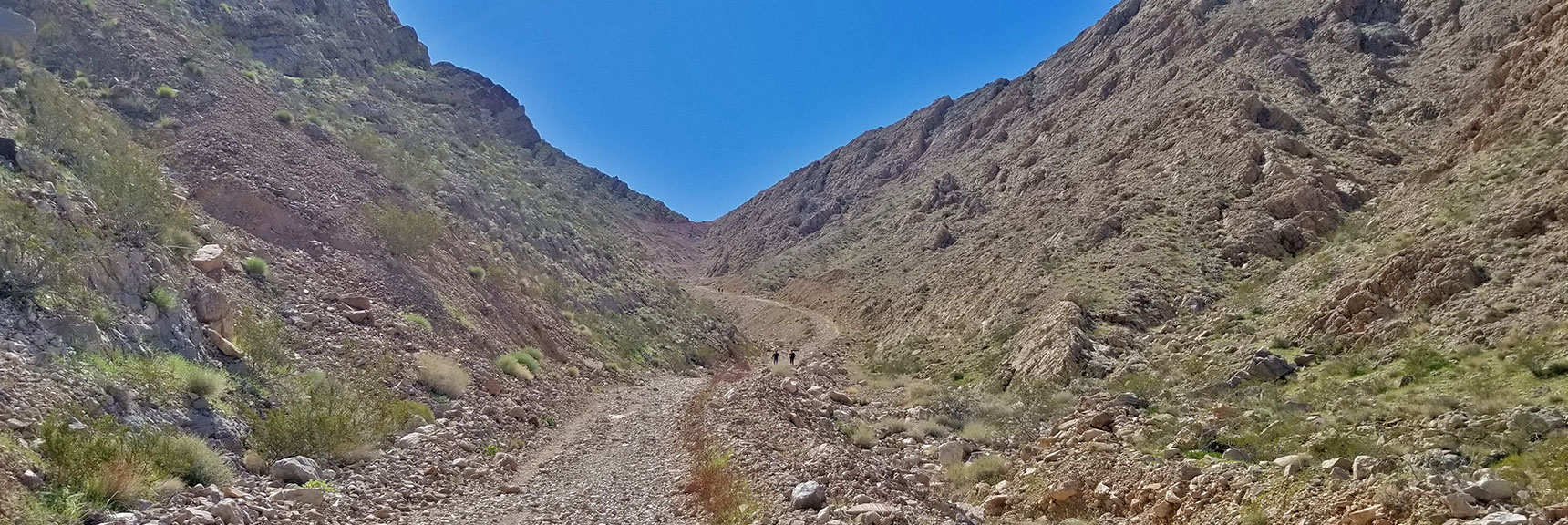 Road Ascending Frenchman Mountain, Nevada