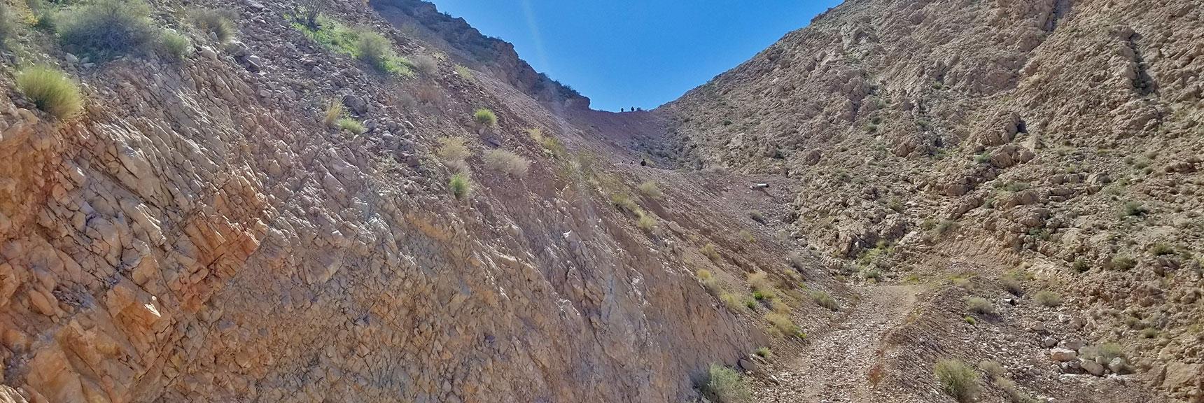 Ascending Toward First Summit of Frenchman Mountain, Nevada