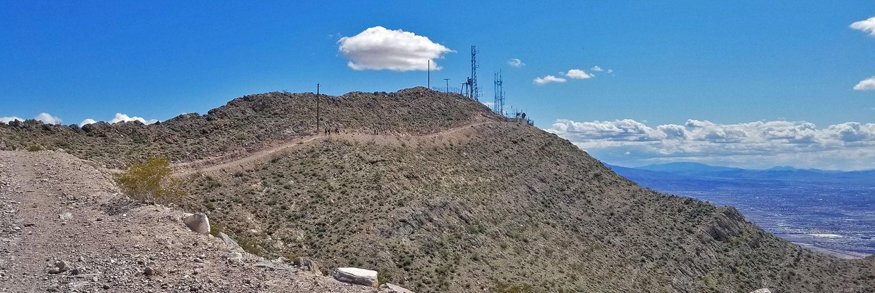 View Toward Second Summit of Frenchman Mountain, Nevada
