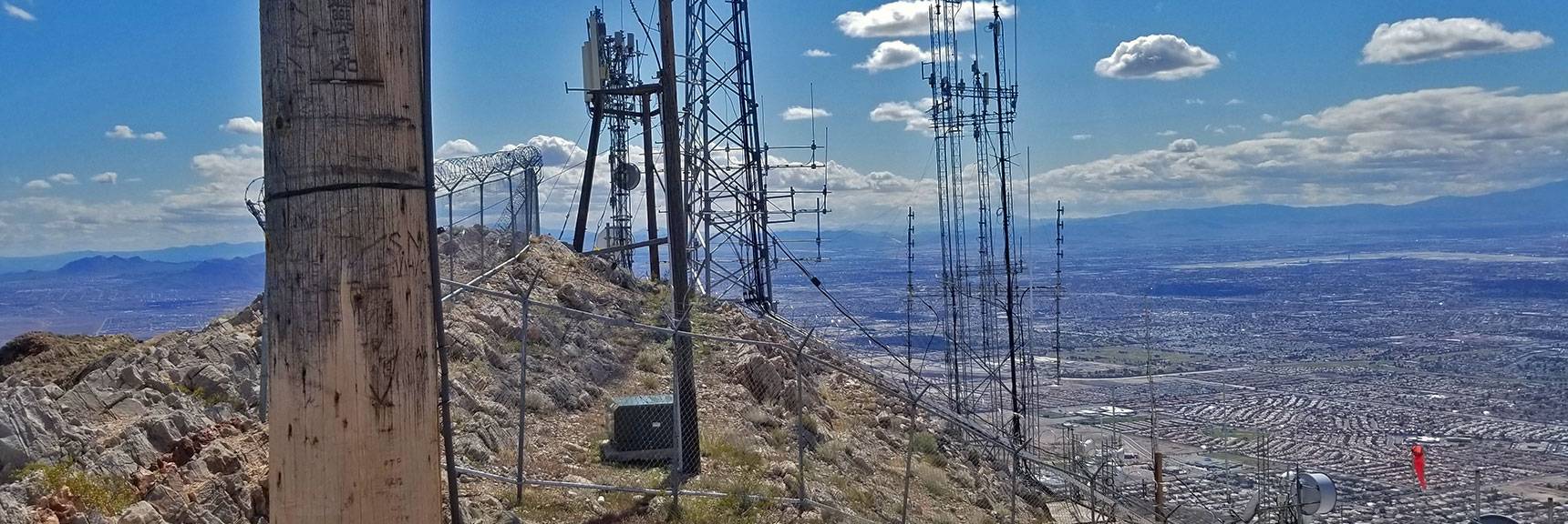 View of Second Summit of Frenchman Mountain, Nevada