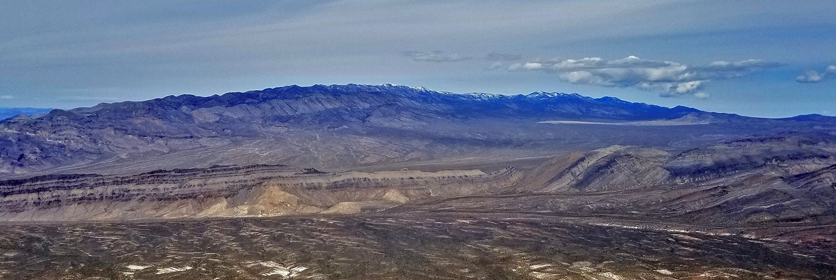 View of the Sheep Range from Gass Peak Eastern Summit | Gass Peak Eastern Summit Ultra-marathon Adventure, Nevada