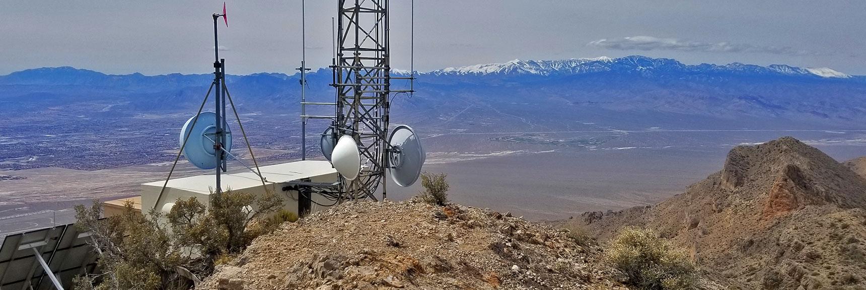 View West From Gass Peak Eastern Summit | Gass Peak Eastern Summit Ultra-marathon Adventure, Nevada
