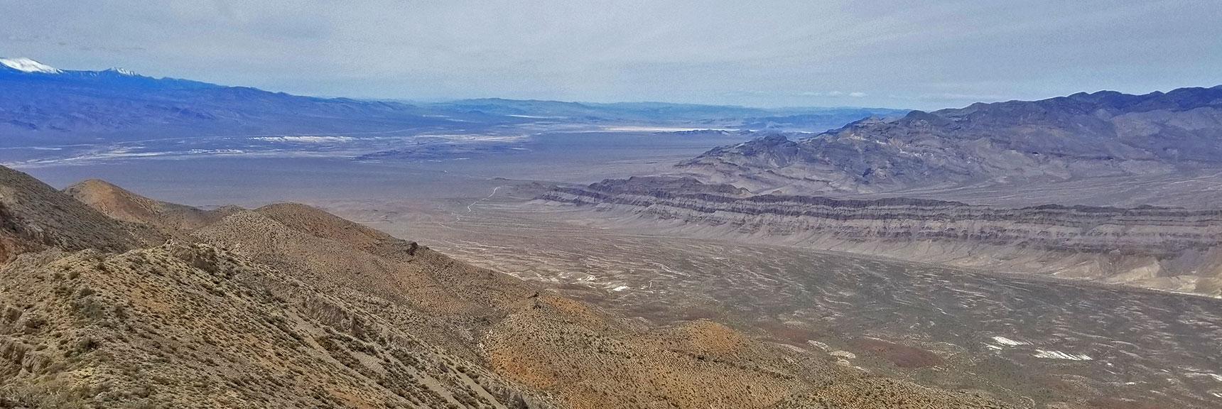 View Northwest From Gass Peak Eastern Summit | Gass Peak Eastern Summit Ultra-marathon Adventure, Nevada