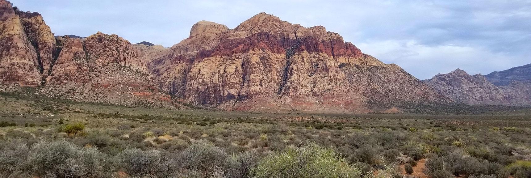 Juniper Peak, Pine Creek Canyon and Bridge Mountain, Rainbow Mountain Wilderness, Nevada