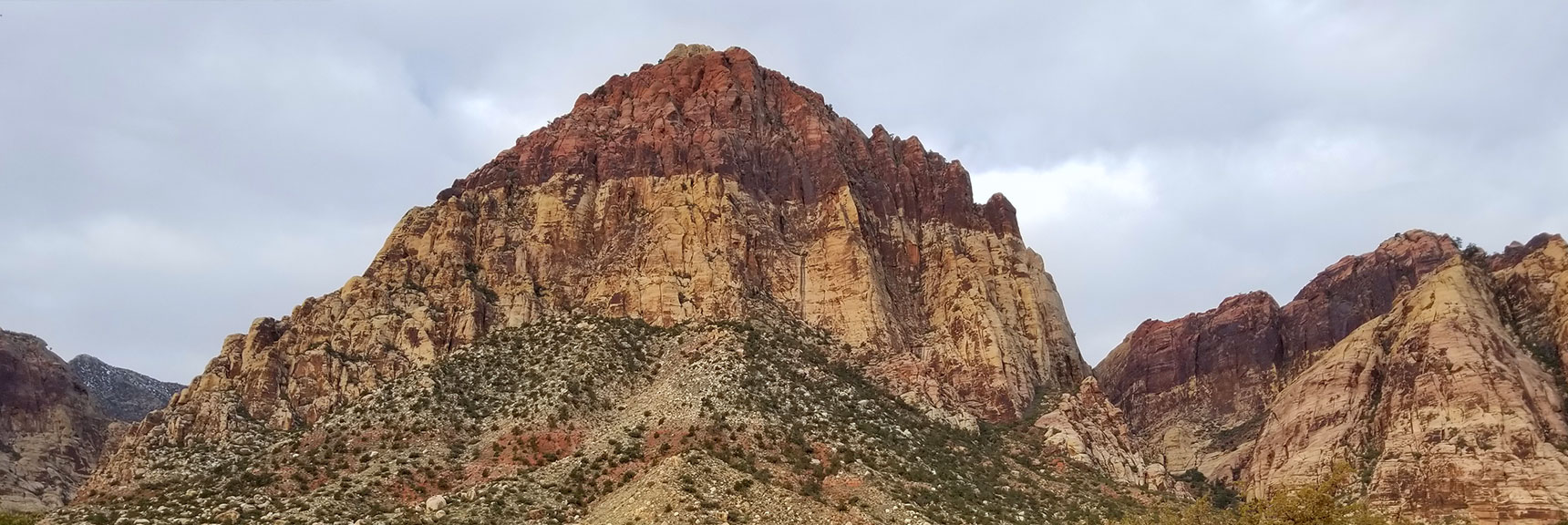 Rainbow Mountain and Juniper Peak, Rainbow Mountain Wilderness, Nevada