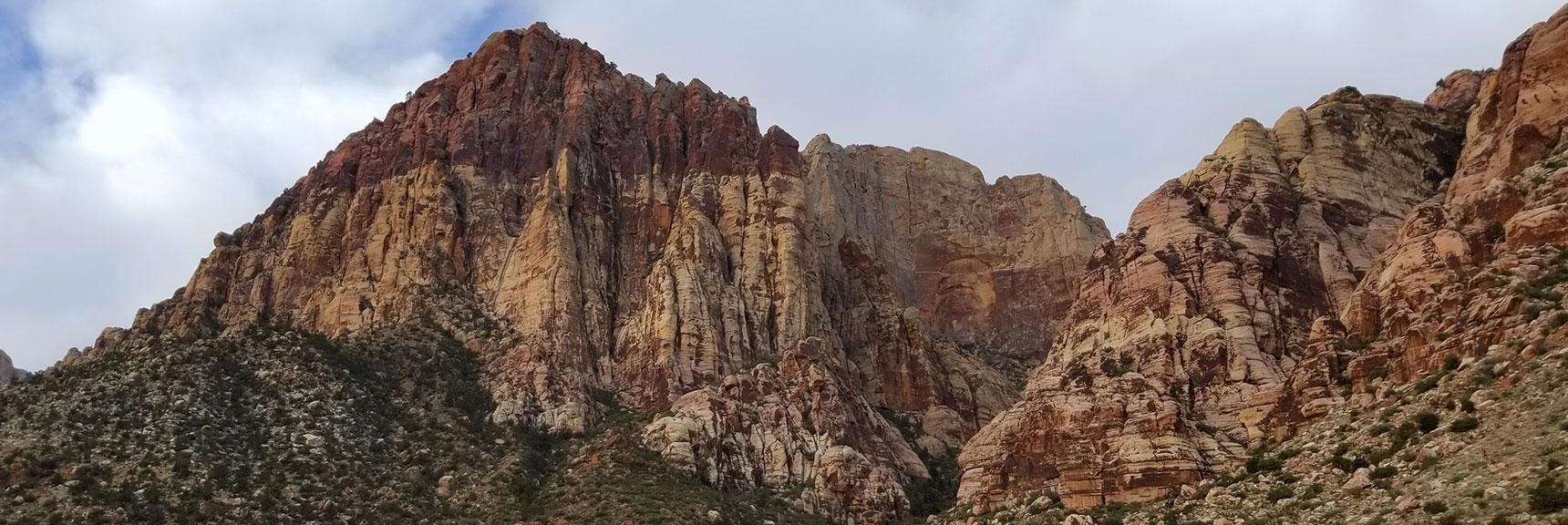 Rainbow Mountain and Rainbow Wall, Rainbow Mountain Wilderness, Nevada