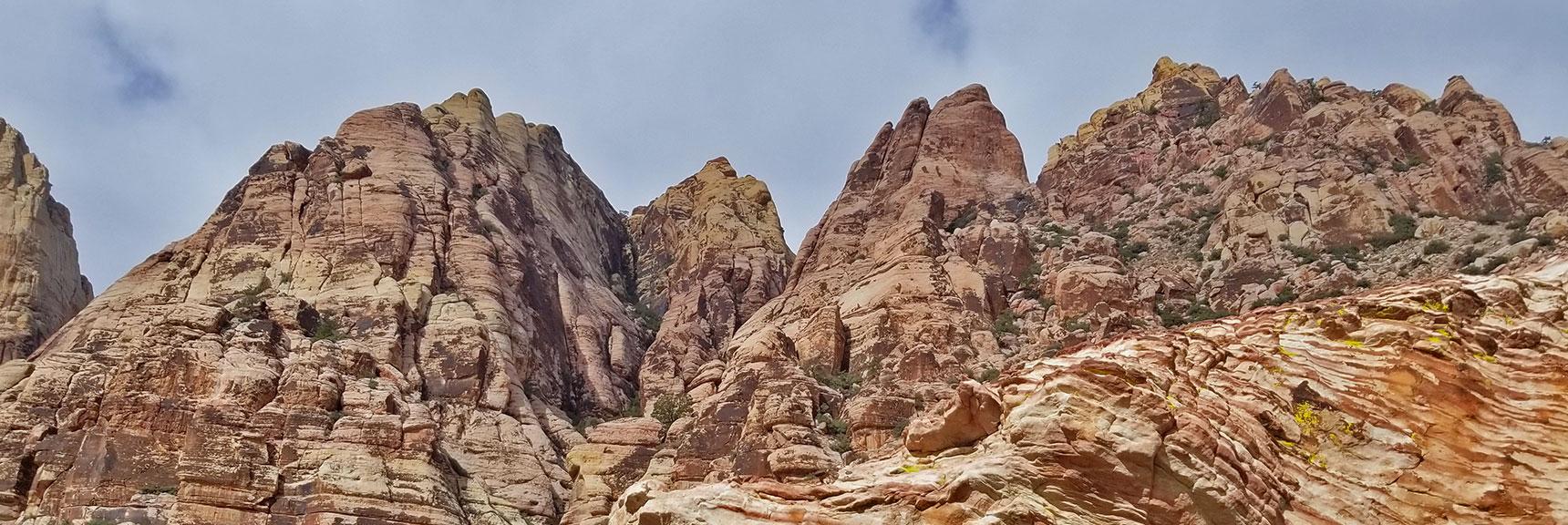 Up Juniper Peak, Rainbow Mountain Wilderness, Nevada