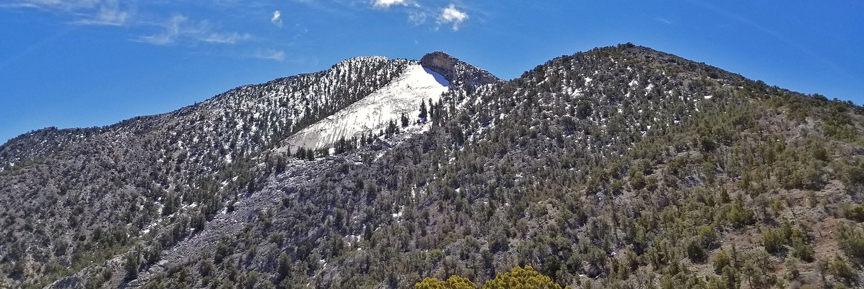 View of La Madre Mountain Summit from Just North of La Madre Mt., Nevada