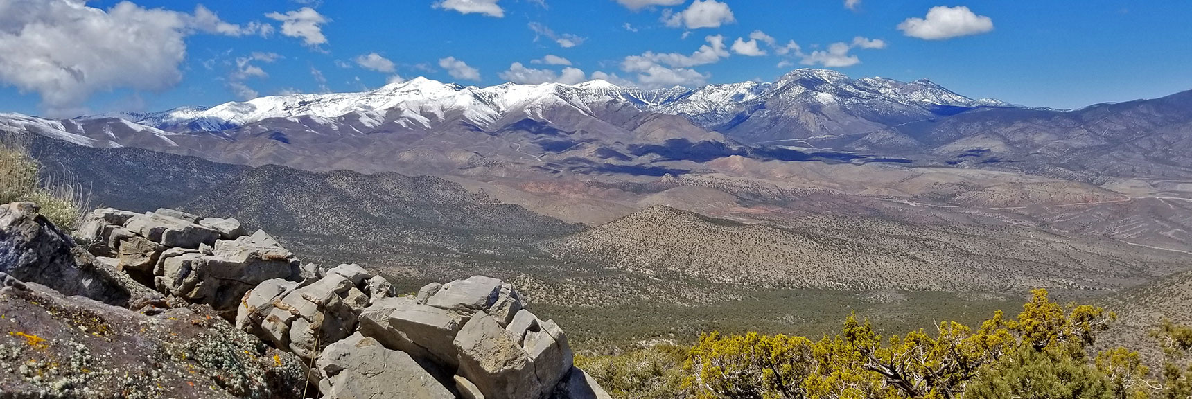 View of Mt. Charleston Wilderness from Just North of La Madre Mt., Nevada