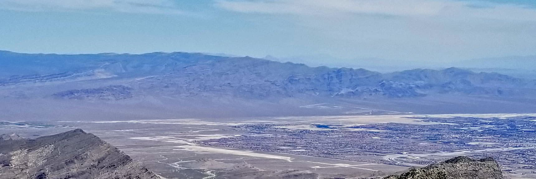 Sheep Range from La Madre Mountain Summit | La Madre Mountain Northern Approach, Nevada