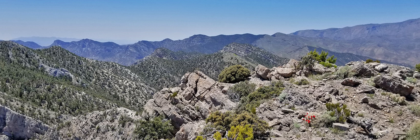 Wilson Ridge on East Side of Lovell Canyon | La Madre Mountain Northern Approach, Nevada