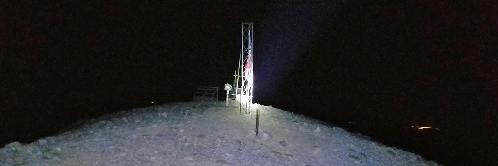 Charleston Peak Summit at 12:30am | Six Peak Circuit Adventure in the Spring Mountains, Nevada