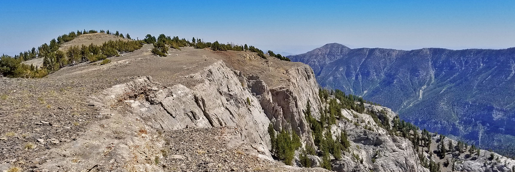 Mummy Mt. Summit, Griffith Peak, South Ridge of Kyle Canyon   Mummy Mountain Adventure with Glenn & Shoshi Hall, Spring Mountains Wilderness, Nevada 011