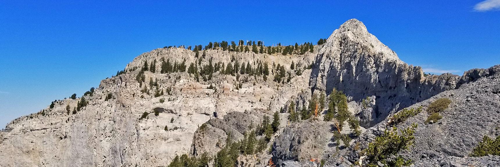 Mummy Mountain from Mummy's Knees | Mummy Mountain's Knees | Mt. Charleston Wilderness, Nevada 028