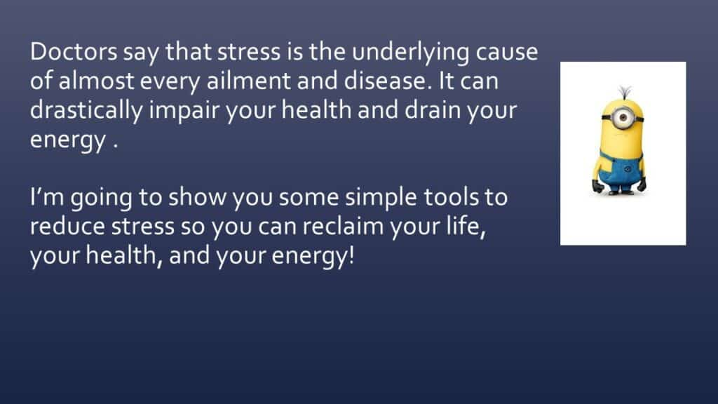 Dianna Whitley   Hypnotherapist   Top 5 Tools to Reduce Stress and Anxiety   Webinar in Achieving Your Optimal Health Webinar Series   Slide 10