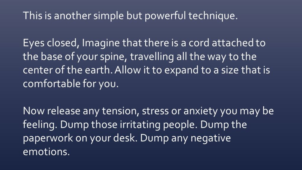 Dianna Whitley   Hypnotherapist   Top 5 Tools to Reduce Stress and Anxiety   Webinar in Achieving Your Optimal Health Webinar Series   Slide 31