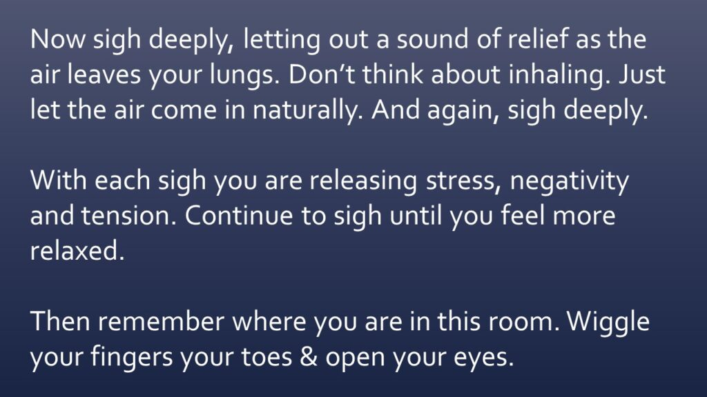Dianna Whitley   Hypnotherapist   Top 5 Tools to Reduce Stress and Anxiety   Webinar in Achieving Your Optimal Health Webinar Series   Slide 32