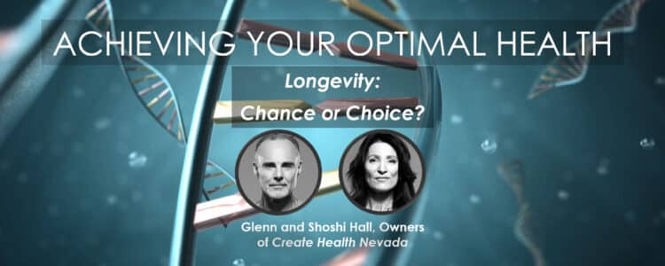 Glenn and Shoshi Hall, owners of Create Health Nevada and creators of the Total Body Makeover Program