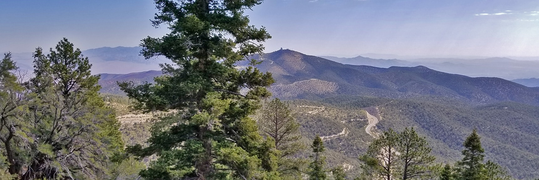 Charleston Observatory, Hwy 158, North Loop Trailhead and Sheep Range | Robbers Roost and Beyond | Spring Mountains, Nevada