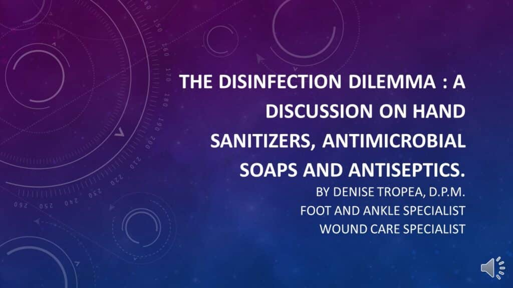 Selecting Best Hand Sanitizers, Antimicrobial Soaps and Antiseptics | Dr. Denise Tropea | Achieving Your Optimal Health Webinar Series - 001
