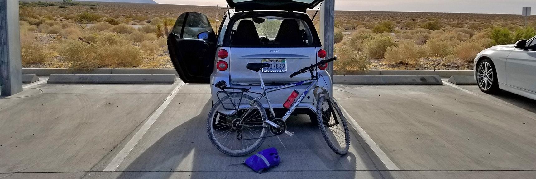 Smart Car, Bike and Bagged Rack System| Smart Car Bike Rack and Mountain Bike Test, Sheep Range, Nevada