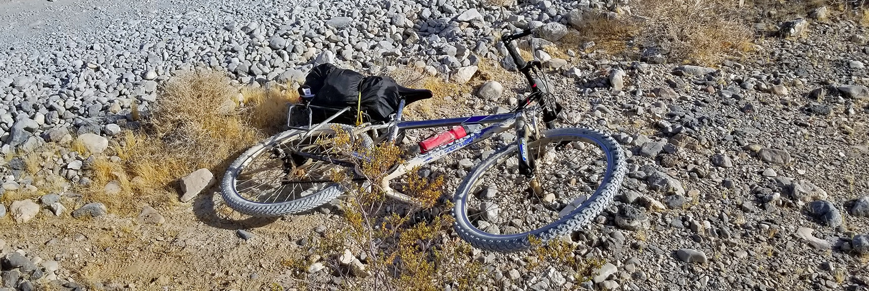 Pausing to View the Sheep Range, Gass Peak, Spring Mts. and La Madre Mts. | Smart Car Bike Rack and Mountain Bike Test, Sheep Range, Nevada