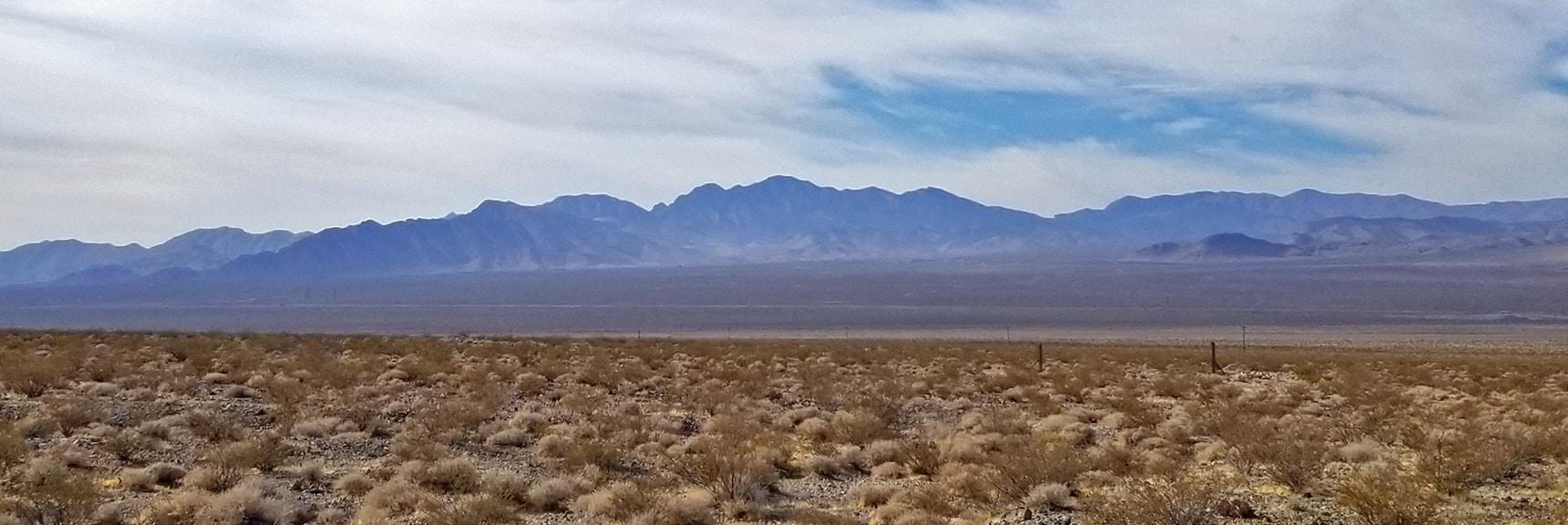 La Madre Mountains Wilderness | Smart Car Bike Rack and Mountain Bike Test, Sheep Range, Nevada