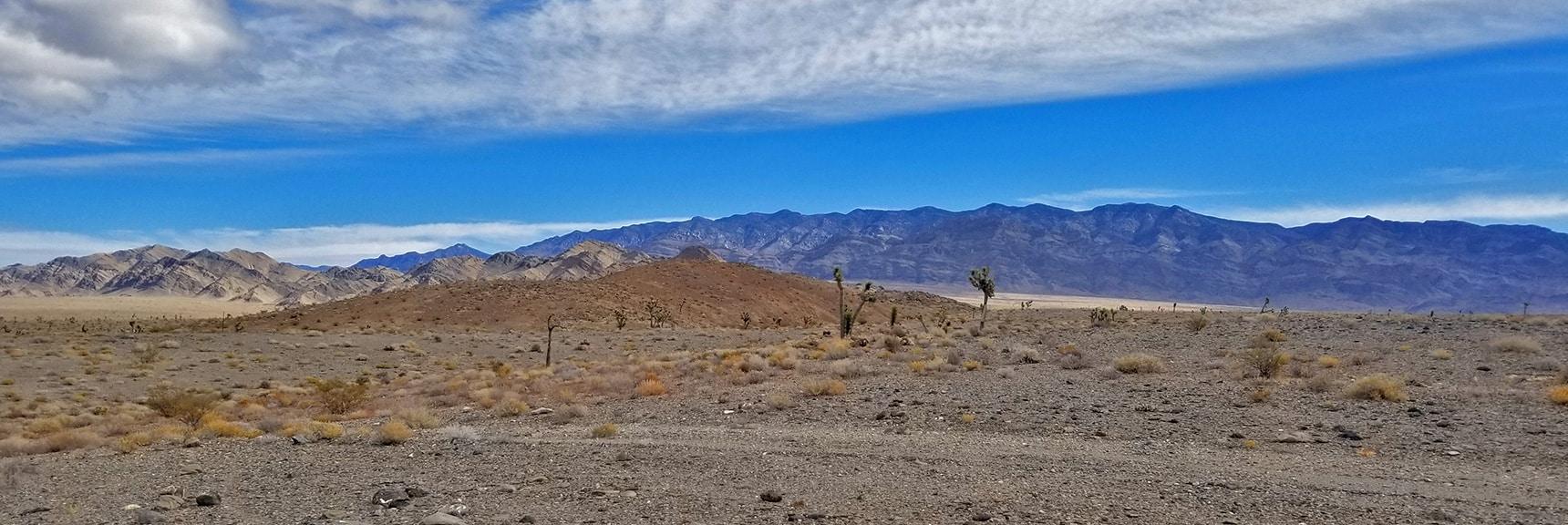 Northwestern Sheep Range Viewed from Alamo Road   Lower Alamo Road   Sheep Range   Desert National Wildlife Refuge, Nevada