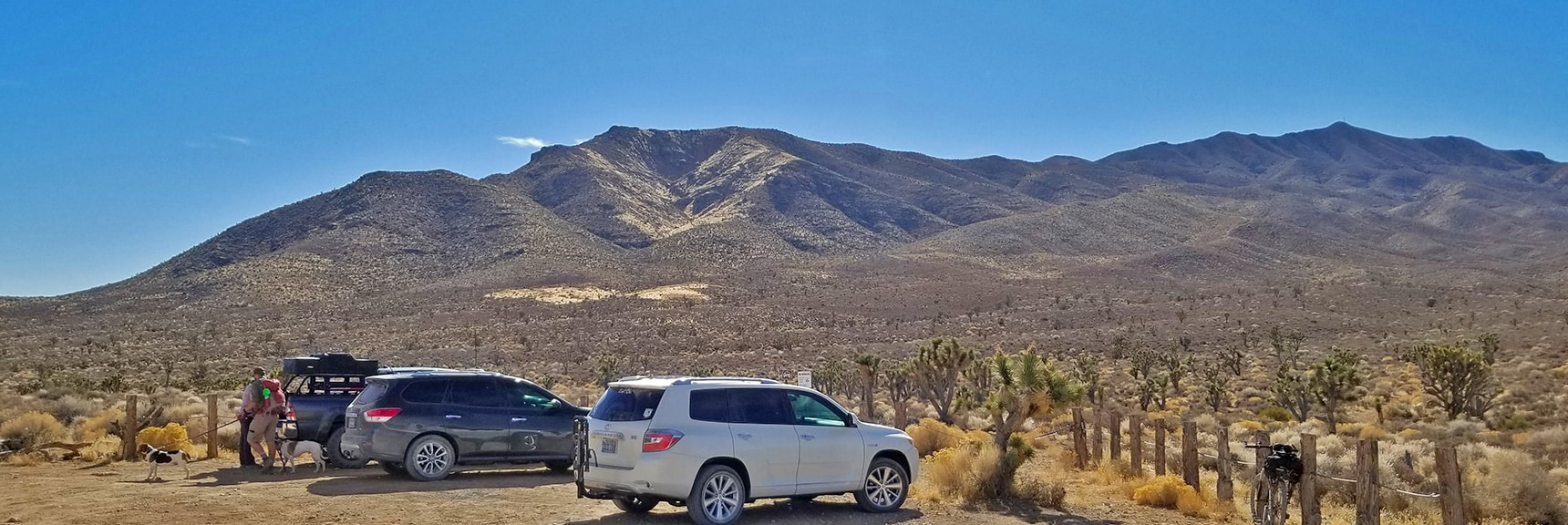 Gass Peak Trailhead on Gass Peak Road | Gass Peak Road Circuit | Desert National Wildlife Refuge | Nevada