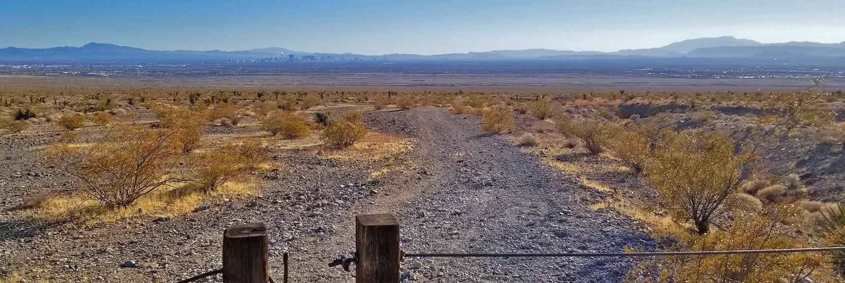 Border of Desert National Wildlife Refuge | Gass Peak Road Circuit | Desert National Wildlife Refuge | Nevada