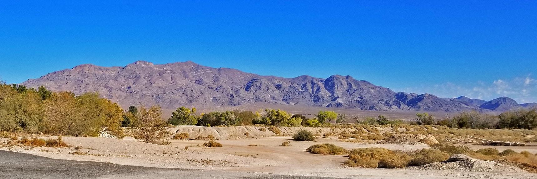 Gass Peak Viewed from South of Floyd Lamb Park   Centennial Hills Mountain Bike Conditioning Adventure Loop, Las Vegas, Nevada