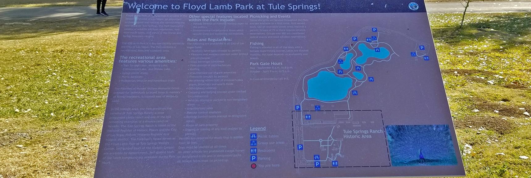 4 Lakes at Floyd Lamb Park   Centennial Hills Mountain Bike Conditioning Adventure Loop, Las Vegas, Nevada