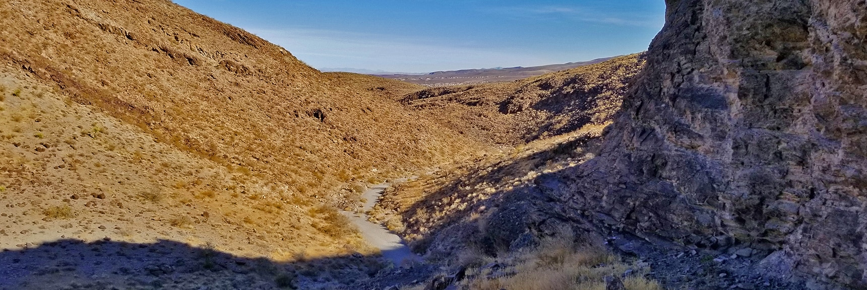 Petroglyphs Scattered on Small Boulders to the Left (Heading Down Canyon) | Petroglyph Canyon | Sloan Canyon National Conservation Area, Nevada