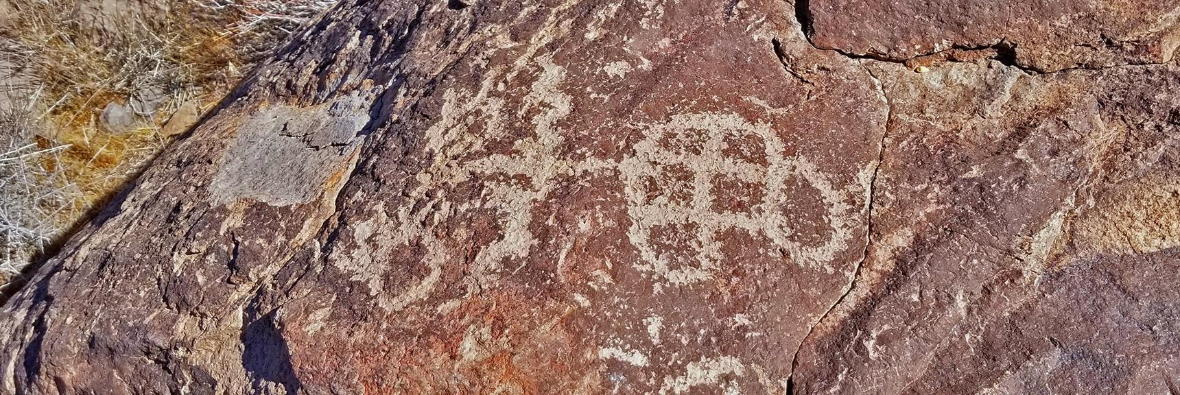 Petroglyphs in Petroglyph Canyon | Sloan Canyon National Conservation Area, Nevada