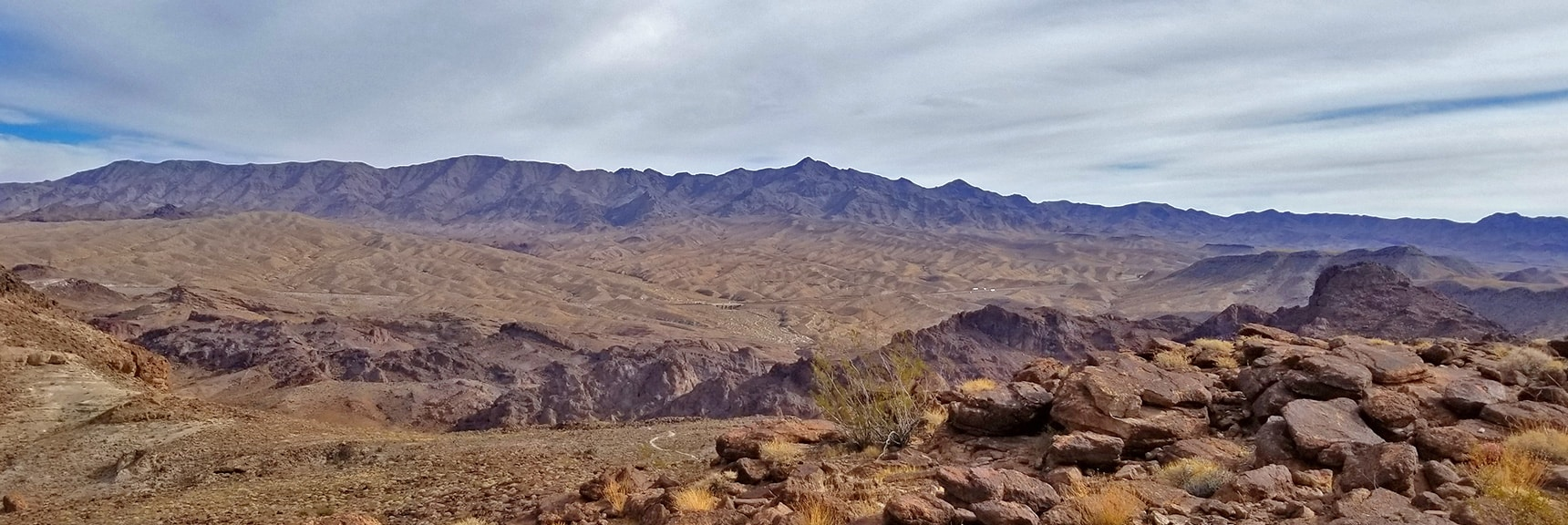 View East Across Canyon to Black Mts. Mt. Wilson High Point. | Arizona Hot Spring | Liberty Bell Arch | Lake Mead National Recreation Area, Arizona