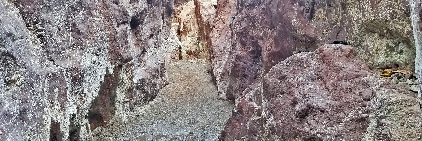 Ascending the Canyon Above the Hot Springs. | Arizona Hot Spring | Liberty Bell Arch | Lake Mead National Recreation Area, Arizona