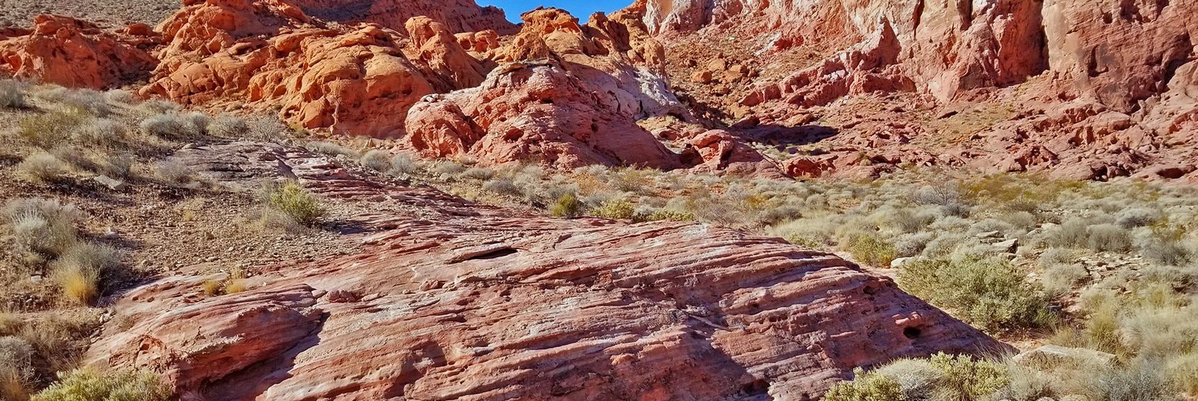 Entering Bowl of Fire | Bowl of Fire, Lake Mead National Recreation Area, Nevada