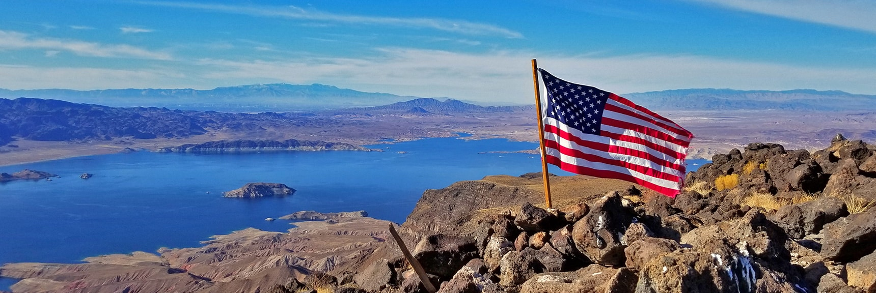 Arrival at Fortification Hill Summit!   Fortification Hill   Lake Mead National Recreation Area, Arizona