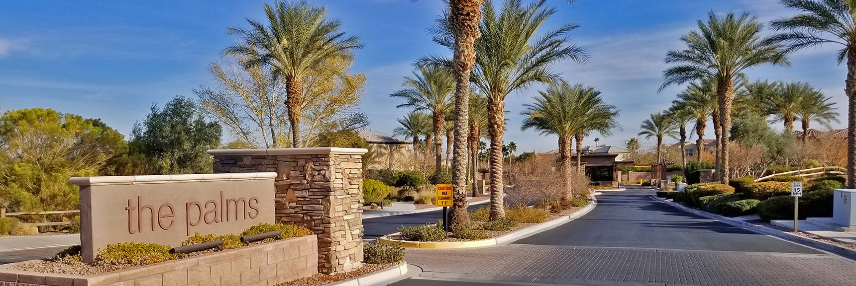 Entrance of The Palms | Snapshot of Las Vegas Northern Growth Edge on January 3, 2021